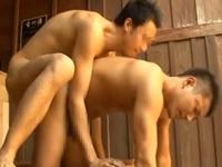 男風呂で出会った初対面の男同士が発情してゲイセックス