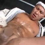 ガテン系ゲイ動画!作業現場でアナルセックスする土木系兄貴