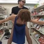 バイトに励む大学生を早朝の店内で襲って処女アナルを奪う