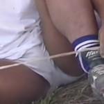 ラガーマンの練習風景を撮影したゲイ向け動画