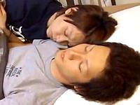 同棲しているBLカップルの目覚めの一発が可愛くてエロい