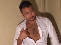 ダンディなイケメンリーマンのセクシーゲイ動画