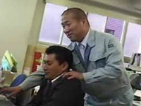 働くおじさん同士で職場でセックスしてるゲイ動画