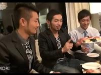 エッチなイケメン男子会のゲイ動画