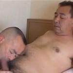 ダンディなおじさん同士のゲイ動画
