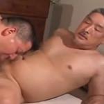 渋いおじさん同士のフェラチオとセックス
