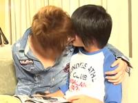BLカップルのキスから始まるラブラブエッチ動画
