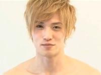 オシャレな金髪イケメンがアナルをドロドロにしてゲイセックス