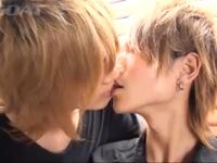 金髪美少年同士のエッチなBL動画