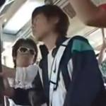 ジャージ姿のスポーツ少年をバスの中で集団痴漢レイプ