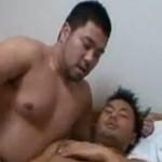 格闘技系ガチムチカップルのねっとり濃厚ゲイ動画