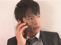 電話一本で淫乱アナルを呼び出して性欲処理するイケメンビジネスマン