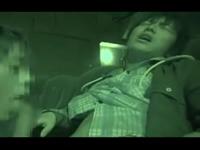 映画館でゲイに襲われた青年 隣に座ってきた男のフェラで悶えるノンケ