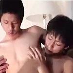 幼さが残る童顔なBLカップルがホテルの一室で濃厚交尾