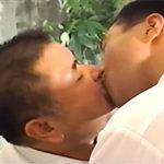 おじさん同士のゲイSEX 癒し系のぽっちゃり中年男の濃厚絡み