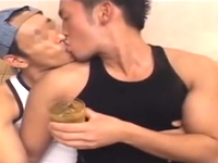 男臭さが半端ないゲイカップルがロングペニスでアナルセックス