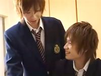 最上級のボーイズラブ 関西弁のジャニ系男子学生が教室でBL