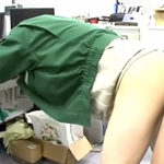 宅配男子が事務所で絶叫!配達業で鍛えた肛門の締まりは良好