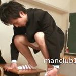 肉便器に調教された学ラン男子…教室で肛門を晒されゲイSEXで犯される