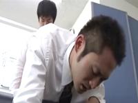 仕事の疲れはSEXで吹き飛ばせ!職場で同僚と性欲を満たすゲイサラリーマン
