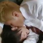 不良と優等生の学生BL動画 金髪ヤンキーに無理矢理抱かれた正統派イケメン