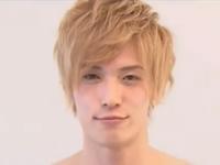 性感帯を刺激された金髪イケメンが色っぽい表情でアナル挿入に挑戦