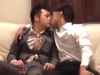 大人の渋さが増してきた30代のゲイカップルが過ごす熱い夜