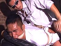 男同士のSMプレイで唸る体育会系リーマン!ガチムチボディを苛め抜くゲイSEX