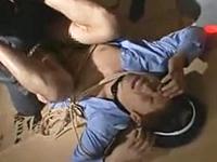 犯されたい願望を暴かれたノンケの警備員!アナルをレイプされた痛みで勃起
