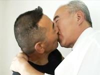 高齢者ゲイカップルのセックス お爺さんになってもアナルの締まり具合は今も昔も変わらない
