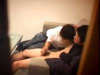 AV男優の面接で暴走するゲイの面接官!ノンケの若者をフェラチオで射精させる面接盗撮